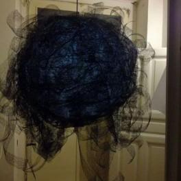 Jemně černé závojení (náhled)