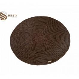 Háčkovaný koberec- kulatý (náhled)