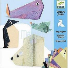 Origami skládačka Polární zvířátka (náhled)