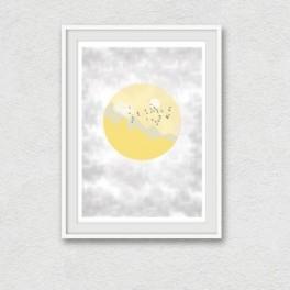 Tištěná ilustrace- Přelet (náhled)