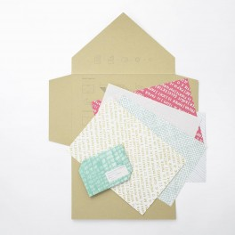 Sada dopisních papírů (náhled)