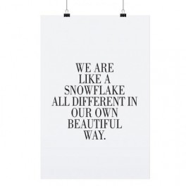 Plakát Snowflake (náhled)