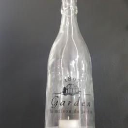 Svícen z lahve (náhled)