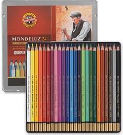 Akvarelové pastelky (náhled)
