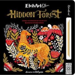 Mazací kniha les (náhled)