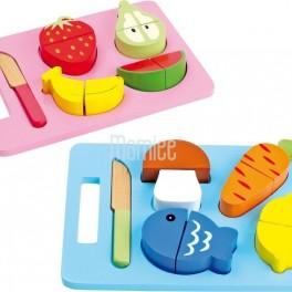 Ovoce, zelenina, ryby (náhled)