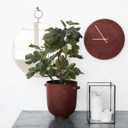 Minimalistické hodiny (náhled)