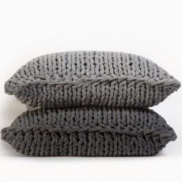 Pletené polštáře (náhled)