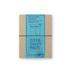 Traveler's Notebook s diářem (náhled)