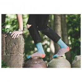 Puntíkopruhované ponožky (náhled)