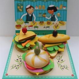 Dřevěné sandwiche (náhled)