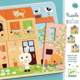 Třívrstvé puzzle (náhled)