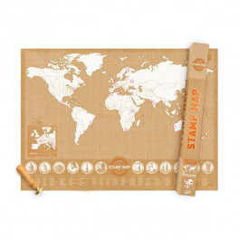 LUCKIES Mapa STAMP MAP (náhled)