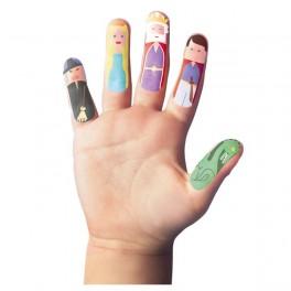 Tetování na prsty (náhled)