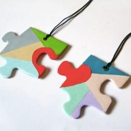DIY Valentýnské puzzle (náhled)