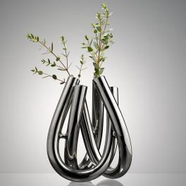 Stříbrná váza (náhled)