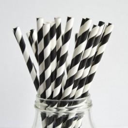 Papírová brčka (náhled)