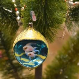 Staré vánoční ozdoby (náhled)