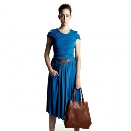 Modré šaty (náhled)