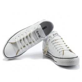 Bílé kožené Converse (náhled)