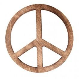 Dřevěný podnos Peace (náhled)