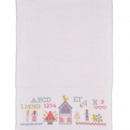 Vyšívaný ručník (náhled)