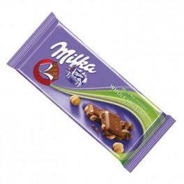 Milka s oříšky (náhled)