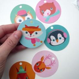 Cute štítky (náhled)
