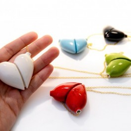 Srdcový náhrdelník (náhled)