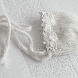Cream lace hat (náhled)