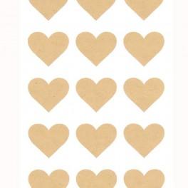 Srdíčkové samolepky (náhled)