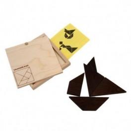 Dřevěný tangram (náhled)