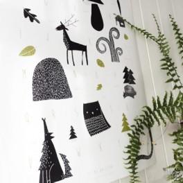 Plakát abeceda lesní (náhled)
