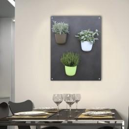 Magnetický květináč na bylinky (náhled)