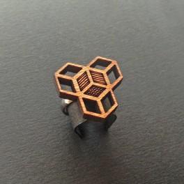Dřevěný prstýnek (náhled)