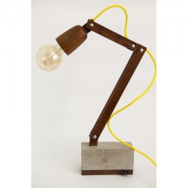 Dřevěná lampička (náhled)
