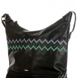 Černá kabelka v jižním stylu (náhled)