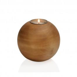 Dřevěný svícen (náhled)