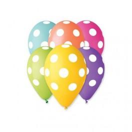 Puntíkované balónky (náhled)