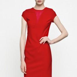 Červené šaty (náhled)