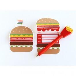 Hamburgerová pozvánka (náhled)