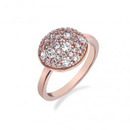 Růžovozlatý prstýnek (náhled)