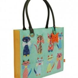 Kočičí nákupní taška (náhled)