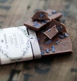 Čokoláda s fialkami (náhled)