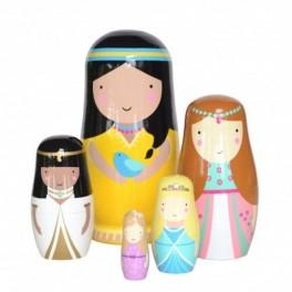 Princezny matrjošky (náhled)