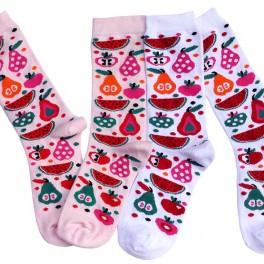 Dámské ponožky s ovocem (náhled)