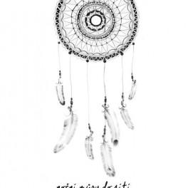 Ilustrovaný lapač snů (náhled)