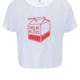 Tričko Školní mlíčko (náhled)