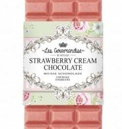 Bílá čokoláda s jahodami (náhled)