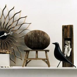 Soška černého ptáka (náhled)